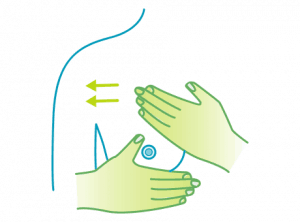 Lymphatic Breast Massage Technique - Step 2