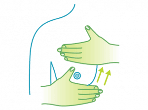 Lymphatic Breast Massage Technique - Step 3
