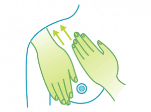 Lymphatic Breast Massage Technique - Step 4